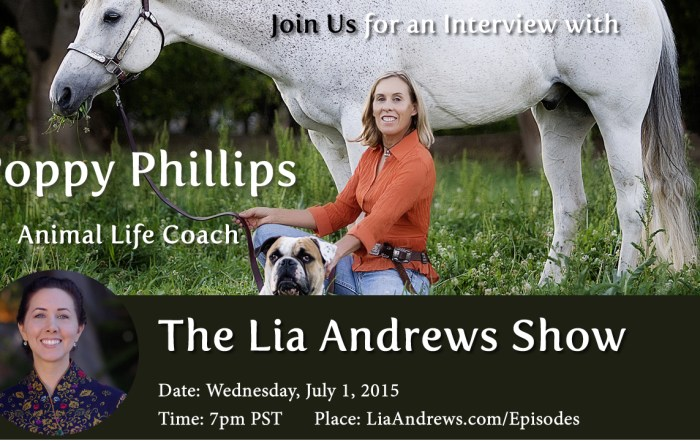PoppyPhillipsThe Lia Andrews Show Podcast