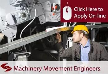 machinery movement engineers public liability insurance