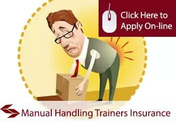 manual handling trainers public liability insurance