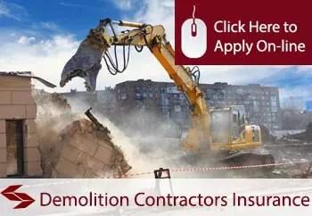 demolition contractors public liability insurance