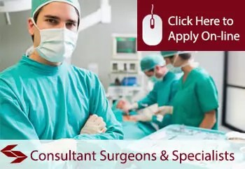 consultants surgeons and specialists public liability insurance