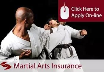 martial arts instructors public liability insurance