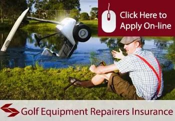 golf equipment repairers public liability insurance
