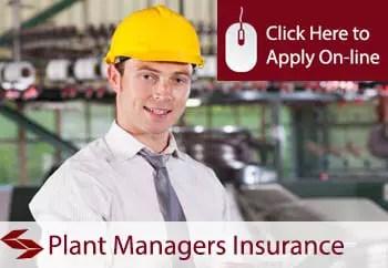 plant managers public liability insurance