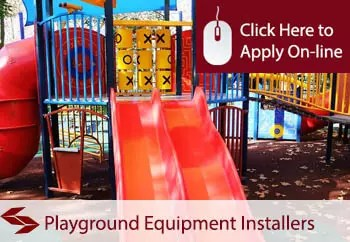 playground equipment installlers public liability insurance