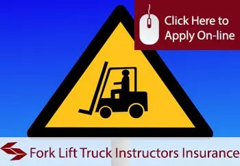 fork lift truck instructors public liability insurance