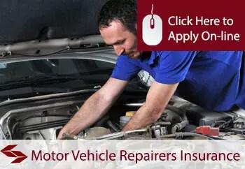 motor vehicle repairers public liability insurance