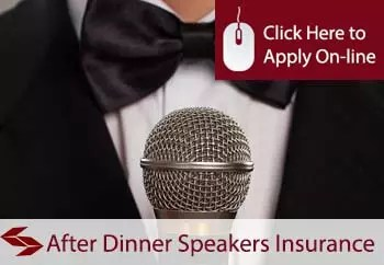 after dinner speakers public liability insurance