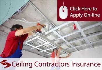 ceiling contractors public liability insurance