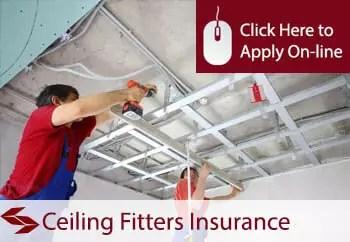 ceiling fitters public liability insurance