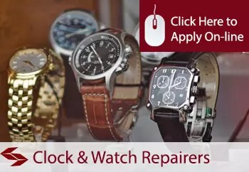 clock and watch repairers public liability insurance