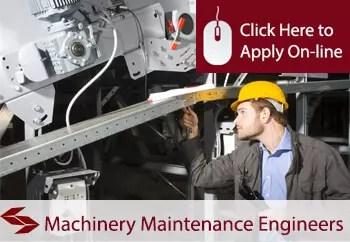 machinery repair and maintenance contractors public liability insurance