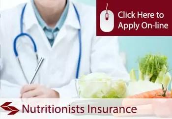 nutritionists public liability insurance