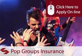 pop groups public liability insurance