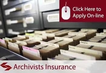 archivists public liability insurance