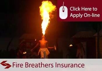fire breathers public liability insurance
