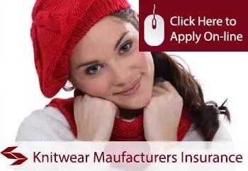 knitwear manufacturers public liability insurance