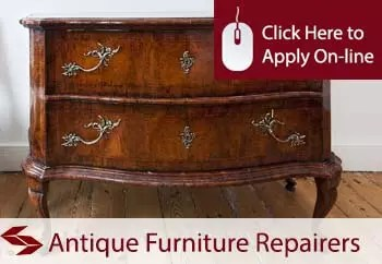 antique furniture repairers public liability insurance
