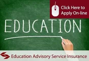 education advisory services public liability insurance