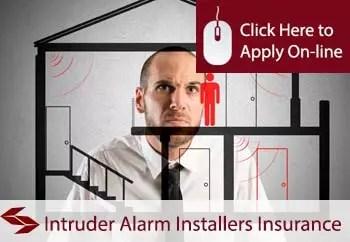 intruder alarm installers liability insurance
