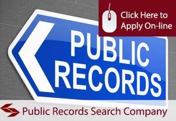 public records search company public liability insurance