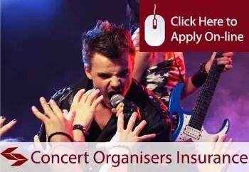 concert organisers liability insurance