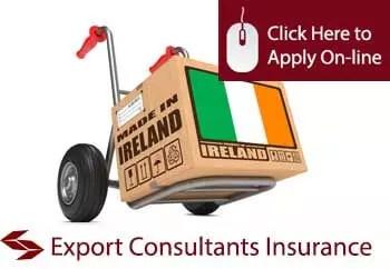 export consultants public liability insurance