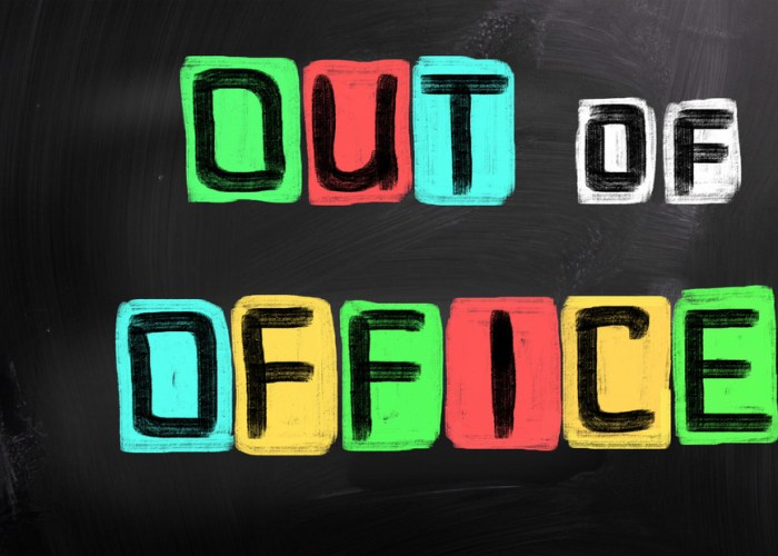 Setting your Out-of-Office message without being a douche