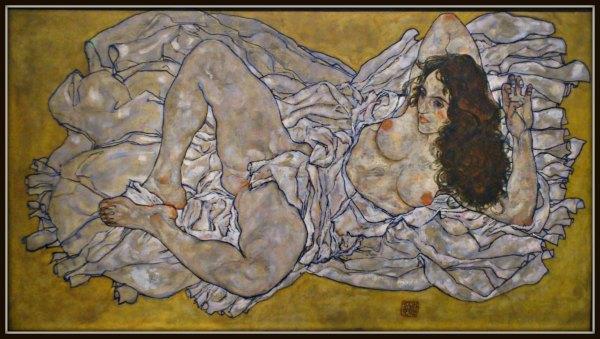 Lying woman, 1917