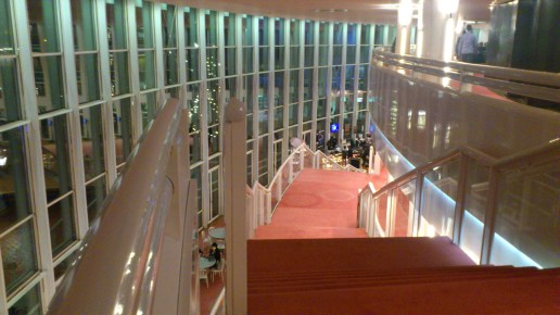 Going up to the 1st Balcony, Music Theatre, Amsterdam
