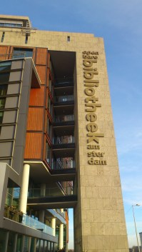Openbare Bibliotheek, The Public Library, Amsterdam. The largest in Europe!