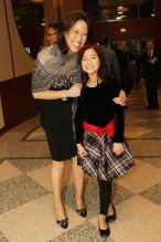 Cindy Hsu and her daughter Rosie. Photo by Lia Chang