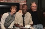Caleb Szarabajka, Meshach Taylor and Keith Szarabajka. Photo by Lia Chang