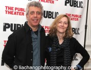 Eric Bogosian and Jo Bonney. Photo by Lia Chang