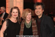 Kathryn Layng, Rachel Cooper and David Henry Hwang, 2015 ISPA Distinguished Artist Award recipient at the 2015 ISPA Congress Awards Dinner at Guastavino's in New York on January 14, 2015. Photo by Lia Chang