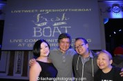 Erin Quill, Phil Nee, Jeff Yang and Lori Tan Chinn at the #FreshOffTheBoat Viewing Party at The Circle NYC on February 4, 2015. Photo by Lia Chang