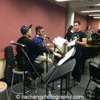Jeigh Madjus, Enrico Rodriguez and Jose Llana. Photo by Lia Chang