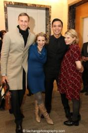 Erik Rose, Sarah Saltzberg, Jose Llana and Celia Keenan-Bolger. Photo by Lia Chang