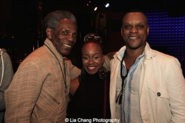 André De Shields, Camille A. Brown and Kevin Mambo. Photo by Lia Chang