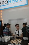 Baohaus serving it up at HBO's screening of East of Main Street: Taking the Lead at Root (Drive-In) in New York on May 6, 2015. Photo by Lia Chang