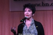 Actress Chita Rivera performs at 'The Visit' Broadway cast performance and CD signing at Barnes & Noble, 86th & Lexington on July 9, 2015 in New York City. Photo by Lia Chang