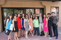 """Finding You by """"The Perfect Asian Pear"""" (Top Ten Film; Best Actor, Grant Chang; Best Director, Grant Chang) and his team at the 11th Annual 72 Hour Shootout World Premiere Film Screening at Village Cinema East in New York on July 25, 2015. Photo by Lia Chang"""