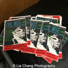Postcards of The Wiz is 40. Photo by Lia Chang