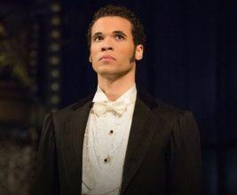 Jordan Donica as Raoul. Photo by Matthew Murphy