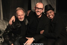 Bryan Hickey, James Phillip Gates and Richarda Abrams. Photo by Lia Chang