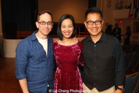 "Screening of ""The Killing Fields of Dr. Haing S. Ngor,"" International House, October 22, 2015, New York. Filmmaker's Garth Kravits, Lia Chang and Arthur Dong."