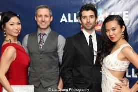 Janelle Dote, Jonathan Portman, Federico Bertè and Elena Wang. Photo by Lia Chang