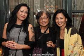 Miiko Watanabe, Carolyn Watanabe and Tamlyn Tomita. Photo by Lia Chang
