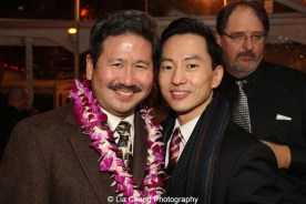Scott Watanabe and Michael K. Lee. Photo by Lia Chang