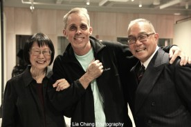 Lillian Ling, John Brekke and Arlan Huang. Photo by Lia Chang